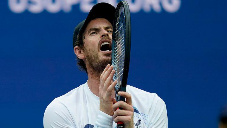 Andy Murray participe au deuxième Renees Open Challenger en France