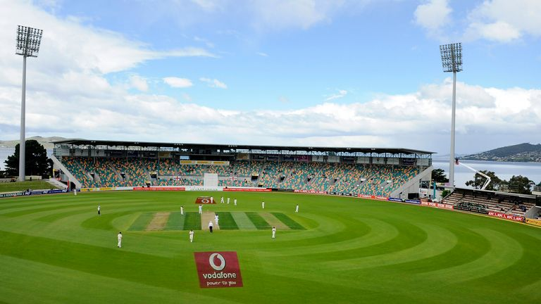 Bellerive was ready to host the Oval Test match