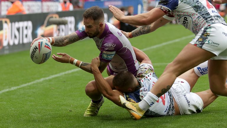 Ben Crooks got Hull KR up and running after going behind to Leigh