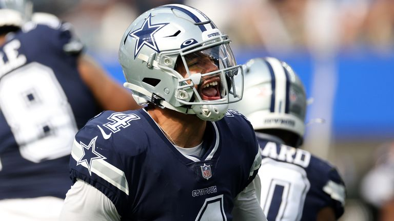 Dak Prescott steered the Dallas Cowboys to their first win of the 2021 NFL season
