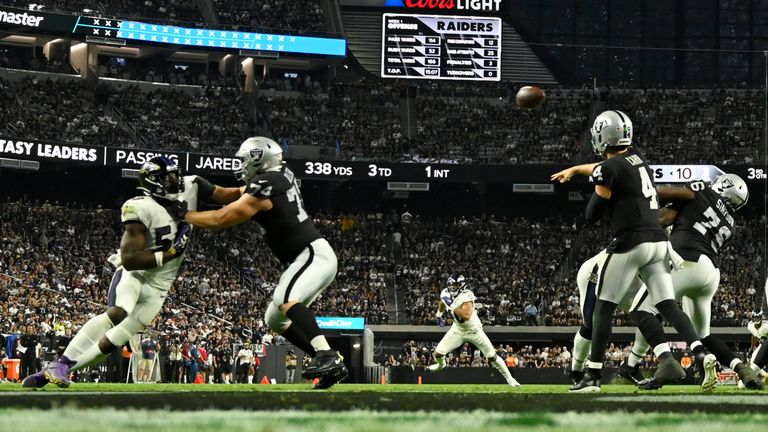 Highlights of the clash between the Baltimore Ravens and the Las Vegas Raiders in Week 1 of the 2021 NFL.