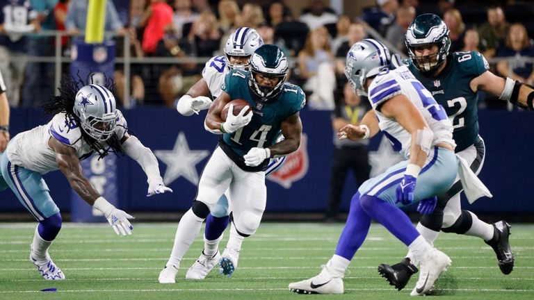 Highlights of the matchup between the Philadelphia Eagles and the Dallas Cowboys from Week 3 of the 2021 season.