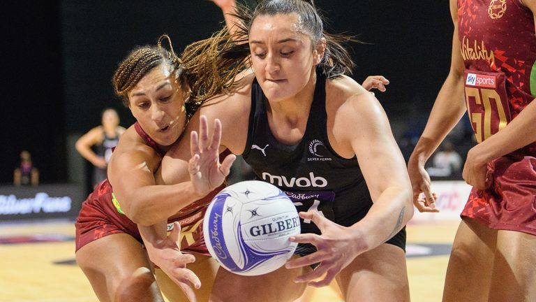 England's Vitality Roses and New Zealand's Silver Ferns meet for a winner-takes-all Test on Friday morning