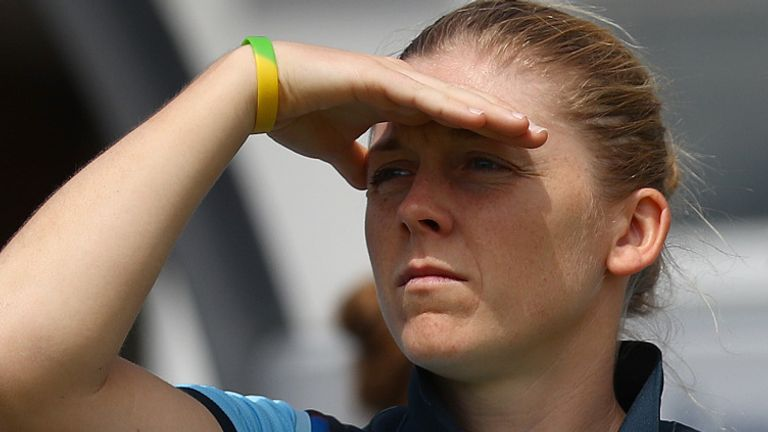 England Women's captain Heather Knight is balancing short-term goals in 2021 with the longer view
