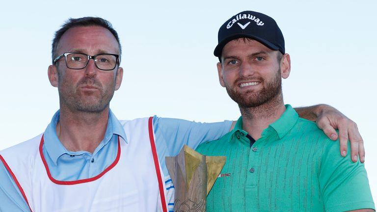 Daniel Gavins celebrated his breakthrough European Tour win this season