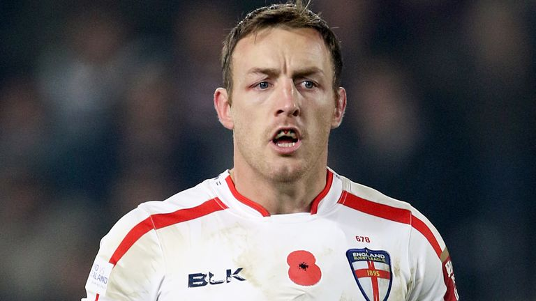 Roby made 36 appearances for England and seven for Great Britain