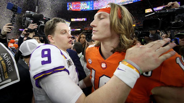 Joe Barrow and Trevor Lawrence met for the first time in the NFL