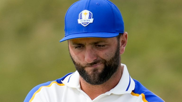 World No 1 Jon Rahm was among the European players defeated on the final day