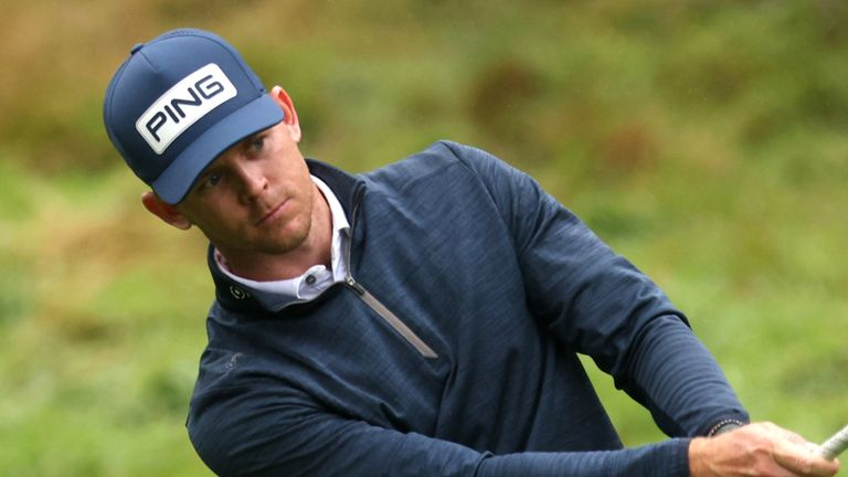 Laurie Canter fell just short in his bid for a maiden European Tour title