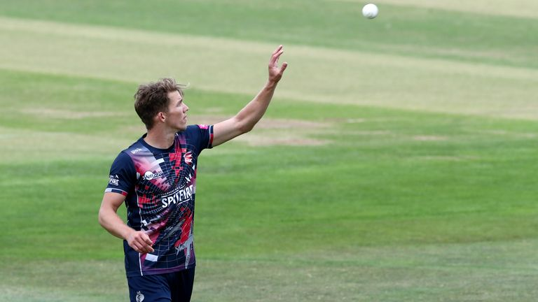 Kent boast one of the best pace attacks in the competition, and Milnes has been instrumental in their success