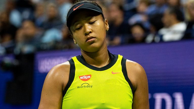 Defending champion Naomi Osaka suffered a surprise defeat to 18-year-old Leylah Fernandez at the US Open