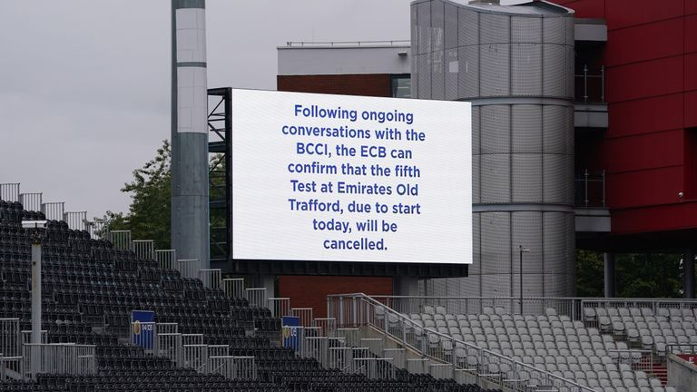 Nasser Hussain described the situation as a 'mess' following confirmation that England's Test match against India has been cancelled because of Covid concerns.