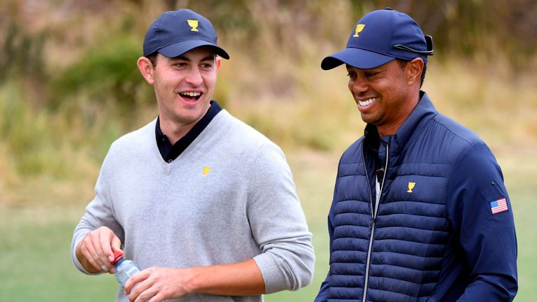 Cantlay et Tiger Woods à la Presidents Cup 2019