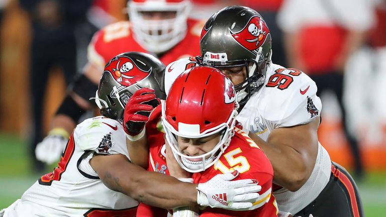 It was a day to forget for Patrick Mahomes and the Chiefs at Super Bowl LV