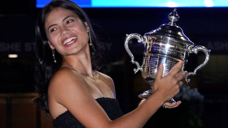 Emma Raducanu's remarkable US Open title as a qualifier is a 'huge opportunity' to grow tennis at the grassroots level and encourage more girls to play the sport, says Judy Murray.