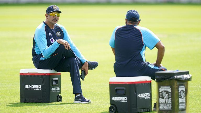Shastri avait l'Inde en route pour sa première victoire en série Test en Angleterre depuis 2007