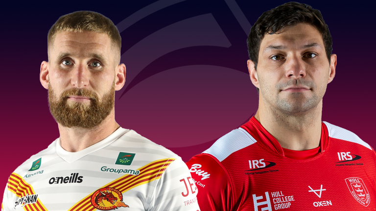 A place in the Super League Grand Final is at stake when Catalans and Hull KR go head-to-head in Perpignan