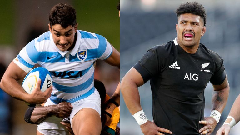 Santiago Carreras will start at fly-half for the first time in his career, while Ardie Savea returns to skipper the All Blacks in Saturday's Rugby Championship Test
