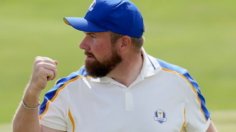 Shane Lowry was frustrated by some of the crowd behaviour at the Ryder Cup
