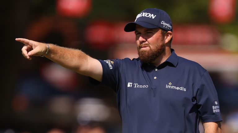 Lowry is seeking his first victory since The Open at Royal Portrush in 2019
