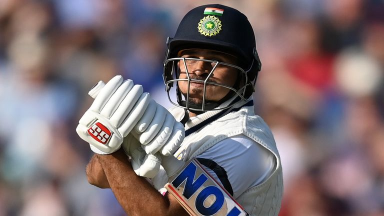 India No 8 Shardul Thakur smashed a 31-ball fifty in the first innings, and added another half-century in the second