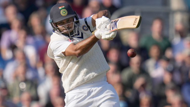 India's Shardul Thakur eclipsed Ian Botham's 32-ball fifty against New Zealand at The Oval in 1986