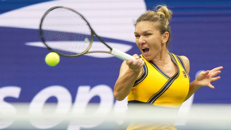 Simona Halep has not gone beyond the second round since 2006 at the US Open (Darren Carroll/USTA)