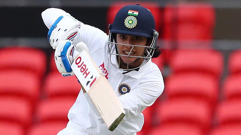 India batter Smriti Mandhana passed 4,500 international runs on day one of the day-night Test against Australia