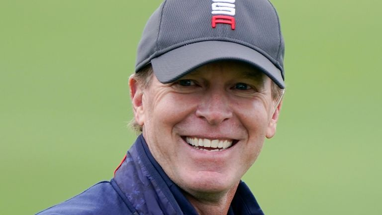 Steve Stricker has previously captained Team USA to a home victory in the Presidents Cup
