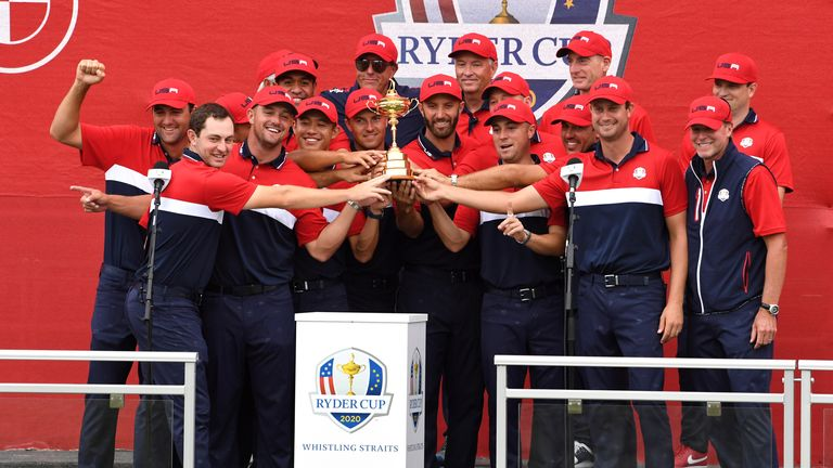 Team USA dominated to claim a 19-9 victory at Whistling Straits