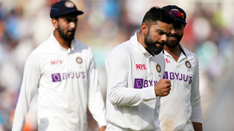 Umesh Yadav dismissed James Anderson as India sealed a thumping win over India on day five of the fourth Test