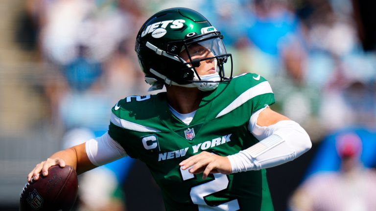 New York Jets quarterback Zach Wilson was taken with the No 2 overall pick in the 2021 NFL Draft