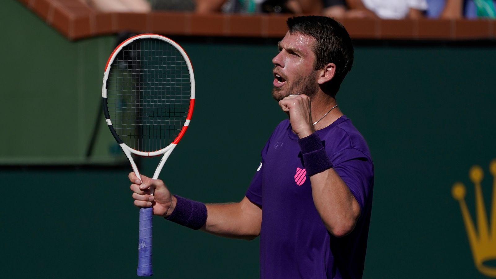 Cameron Norrie beats Grigor Dimitrov in straight sets to reach Indian Wells final