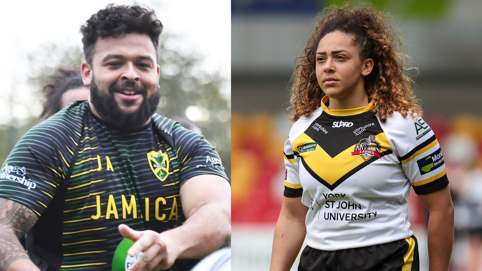 Rugby league siblings Savannah and Jordan Andrade set to take on the world