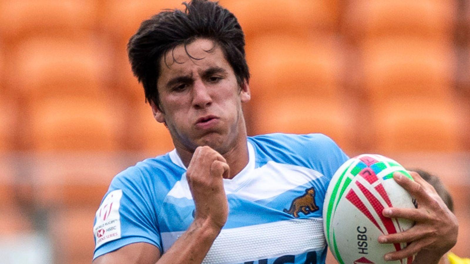 Lucio Cinti Luna: London Irish sign Argentina winger
