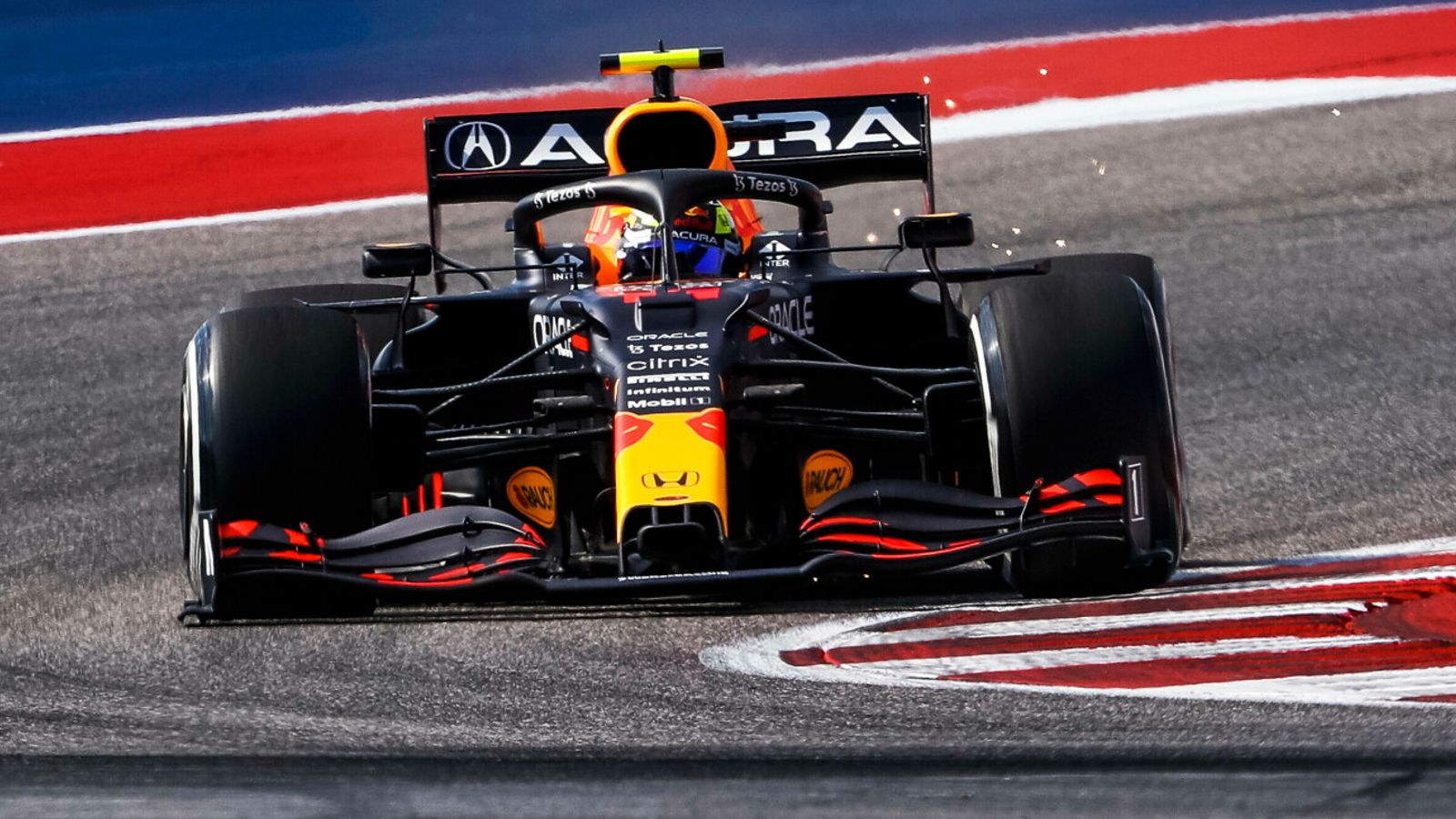 United States GP: Sergio Perez fastest from Lando Norris, Lewis Hamilton in mixed-up Practice Two
