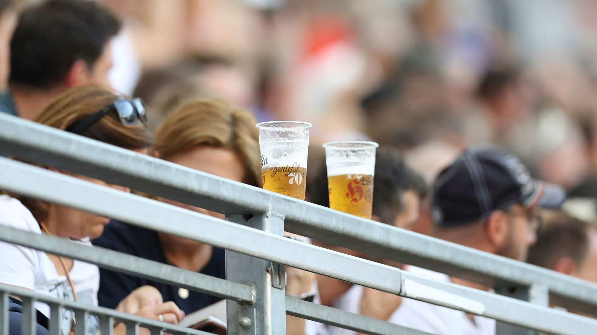 Relaxing pitchside drinking laws 'irresponsible' - police chief
