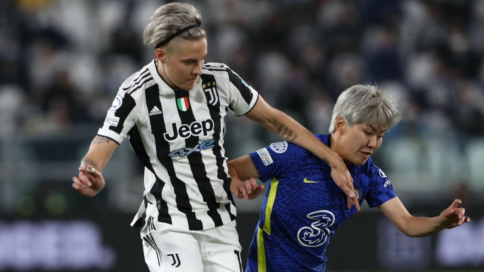 Cuthbert fires Chelsea Women ahead in Turin LIVE!