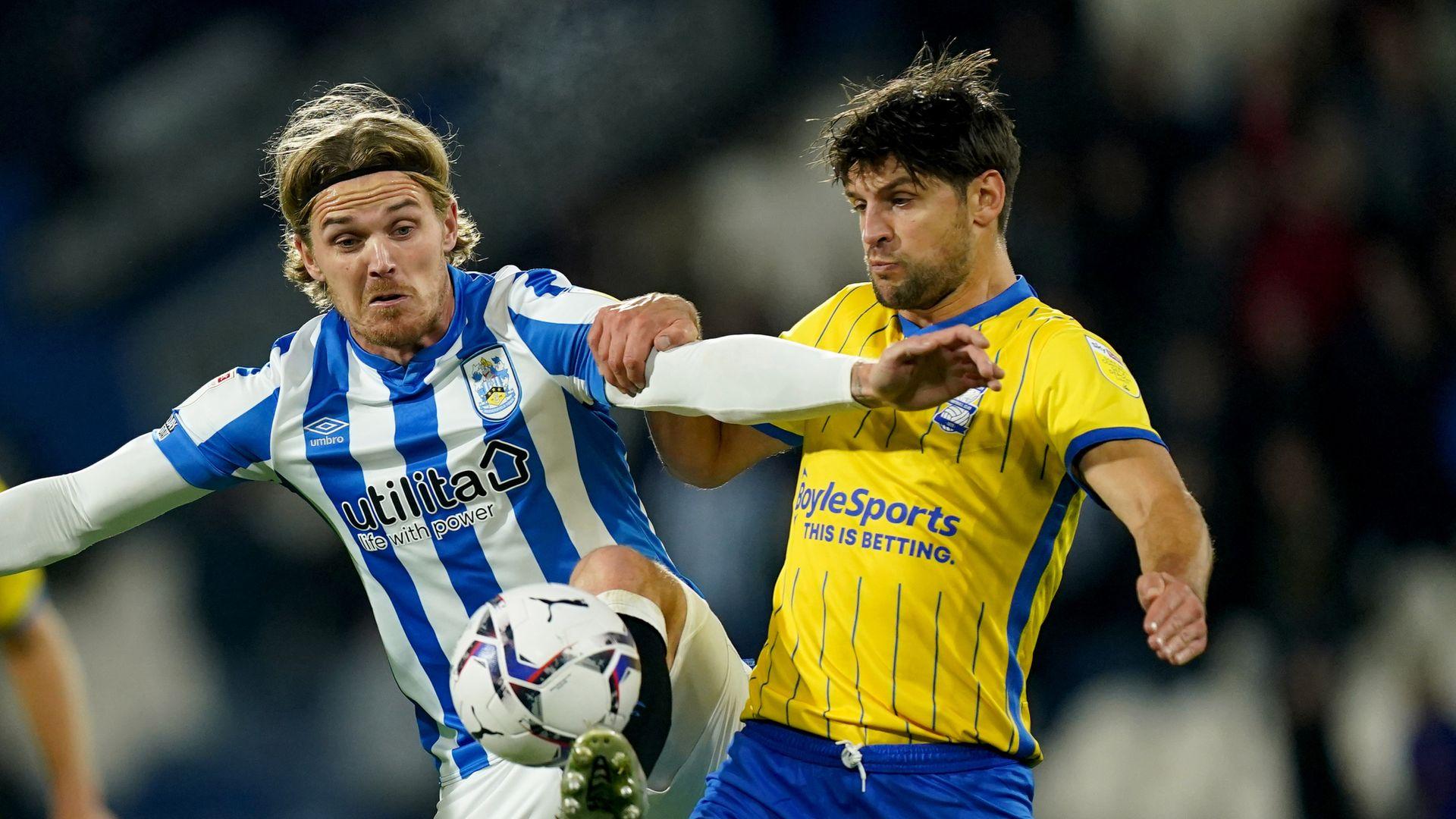 Huddersfield & Birmingham battle to draw
