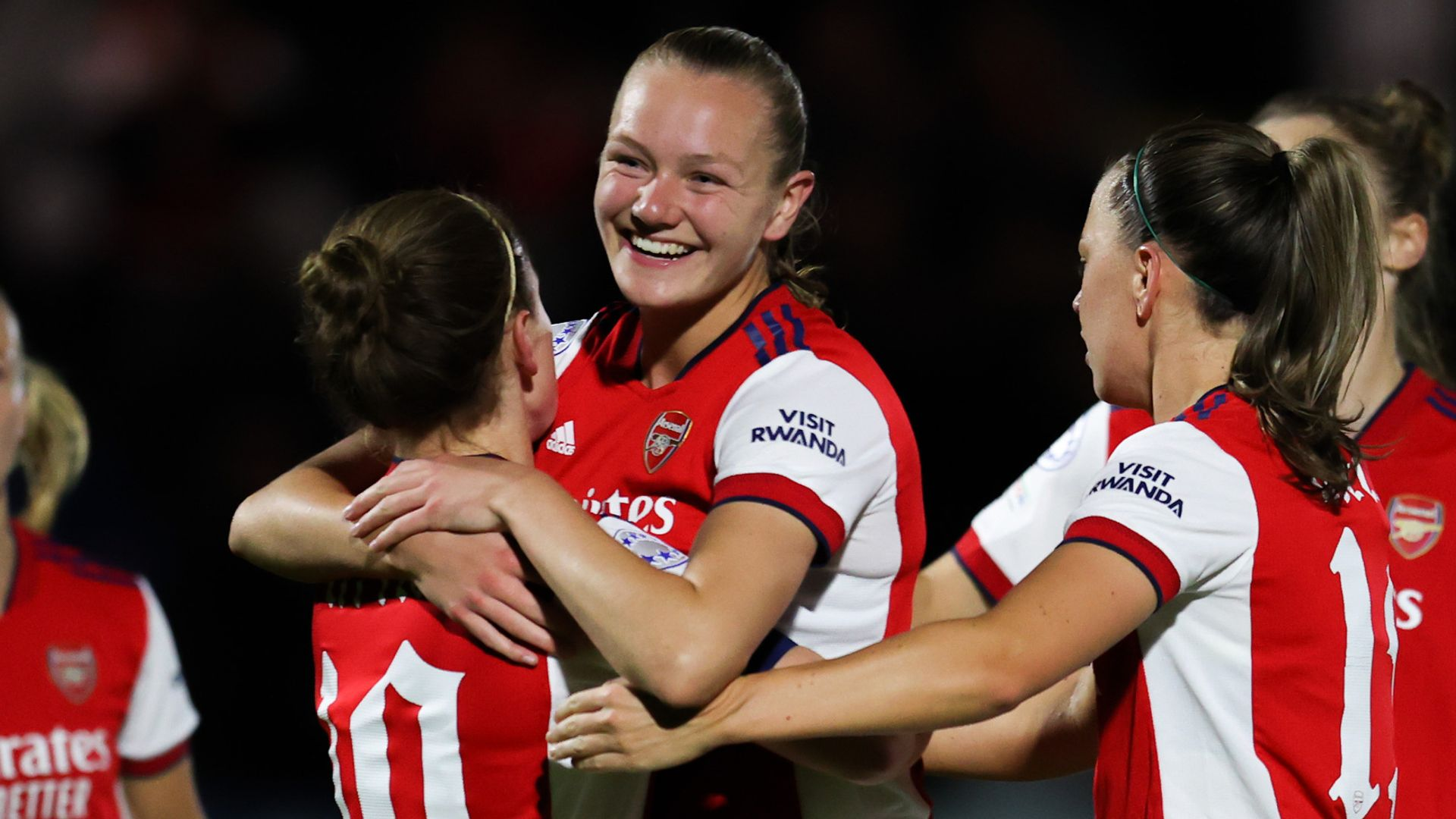 WCL: Arsenal double lead vs Hoffenheim LIVE!