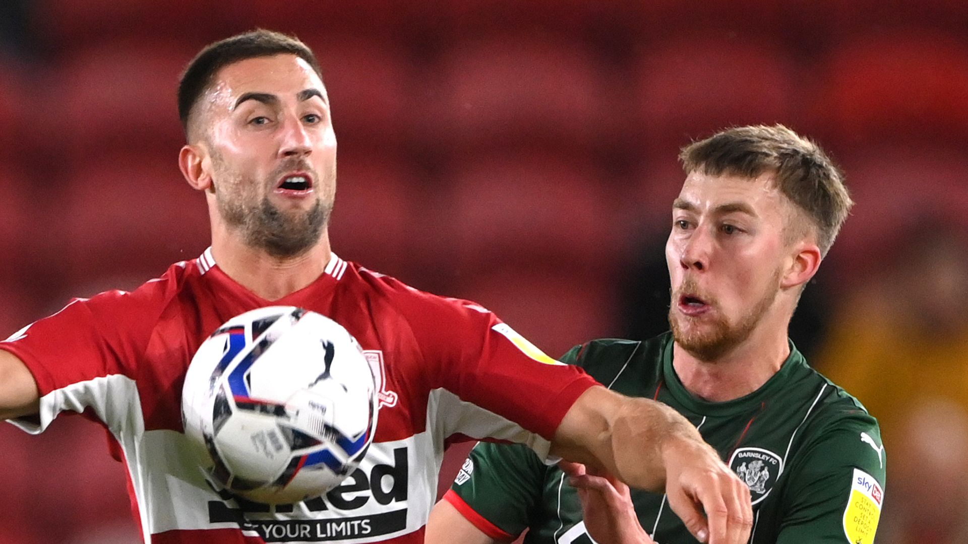 Middlesbrough cruise past Barnsley