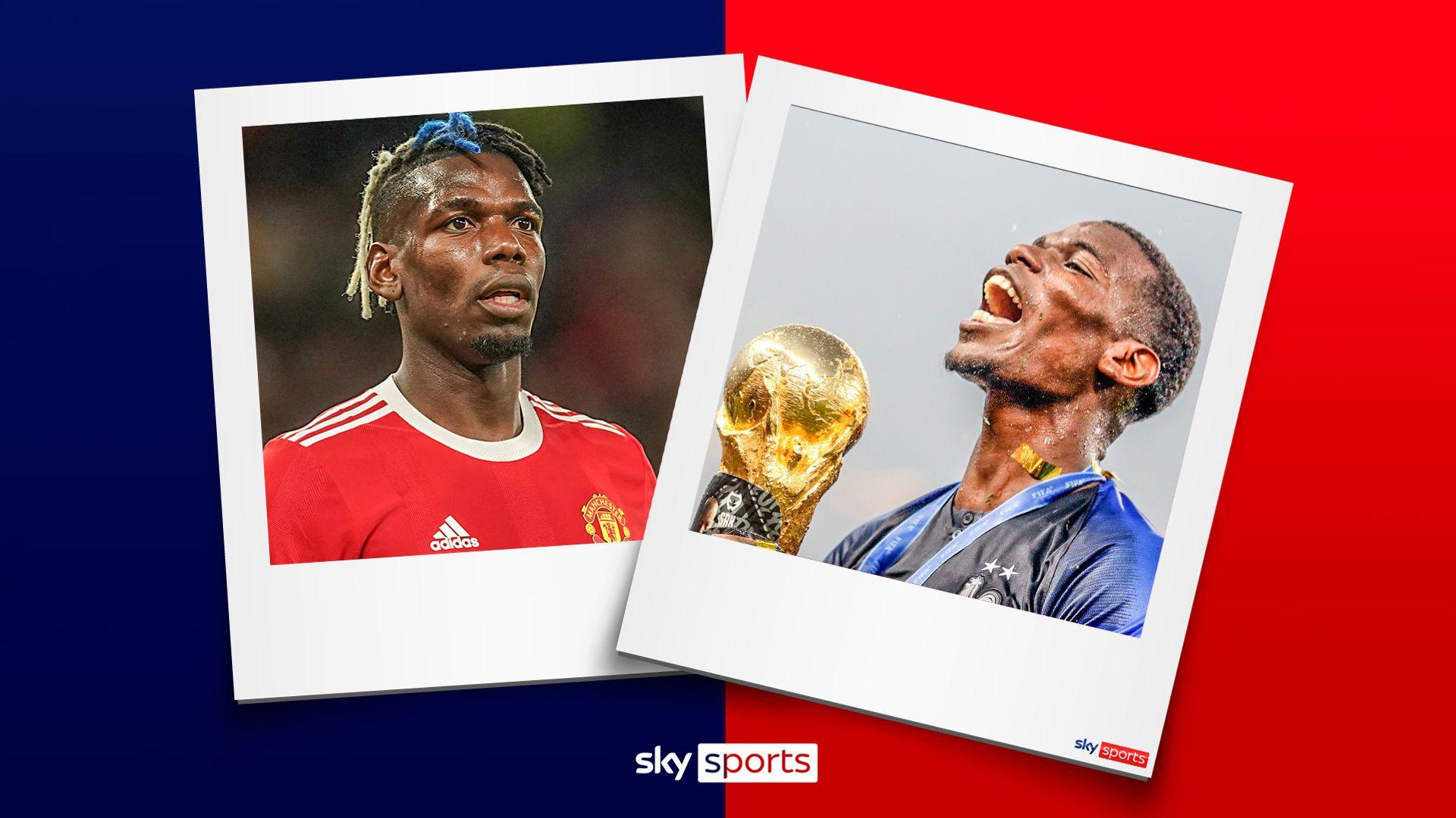 France give Pogba a platform Man Utd can't