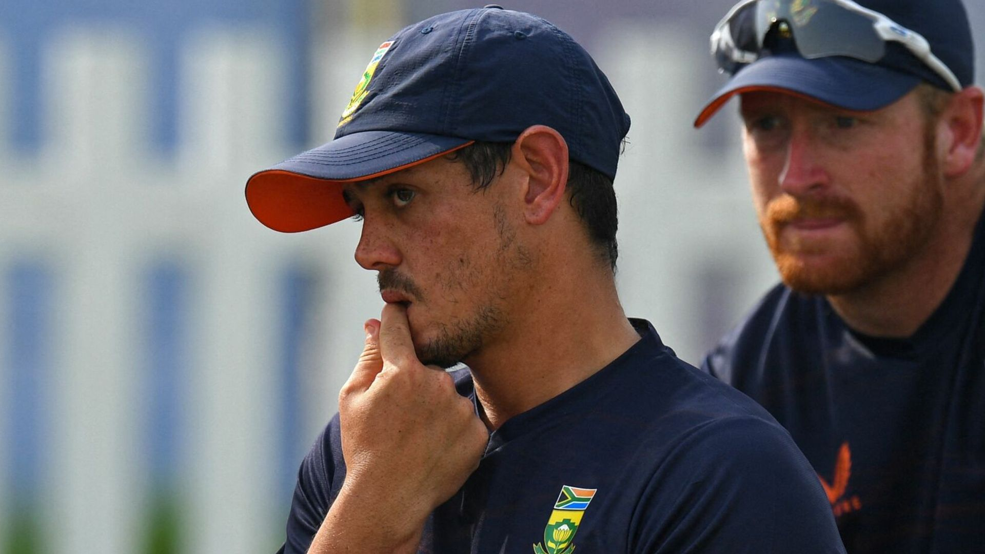 De Kock misses World Cup match after refusing to take knee
