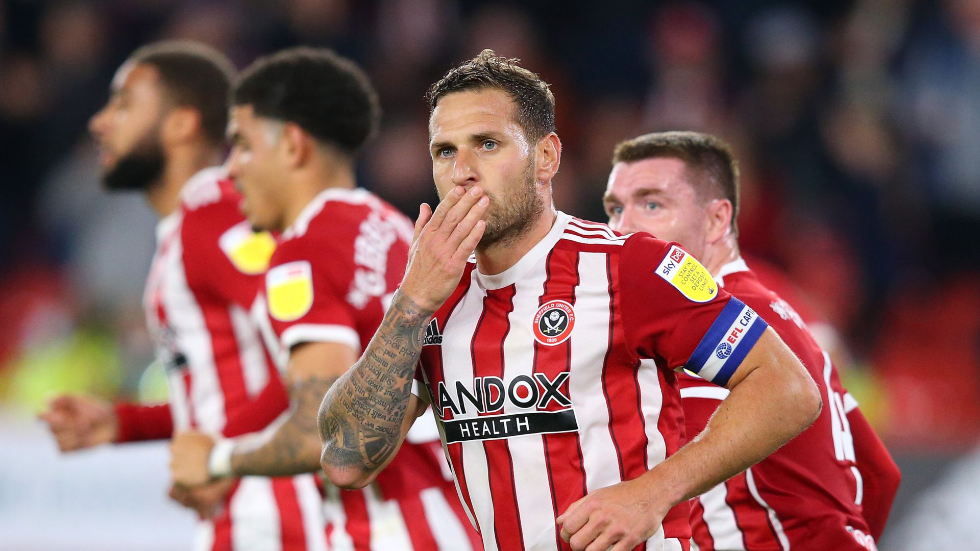 Ch'ship: Bournemouth lead; Sheff Utd, Derby level LIVE!