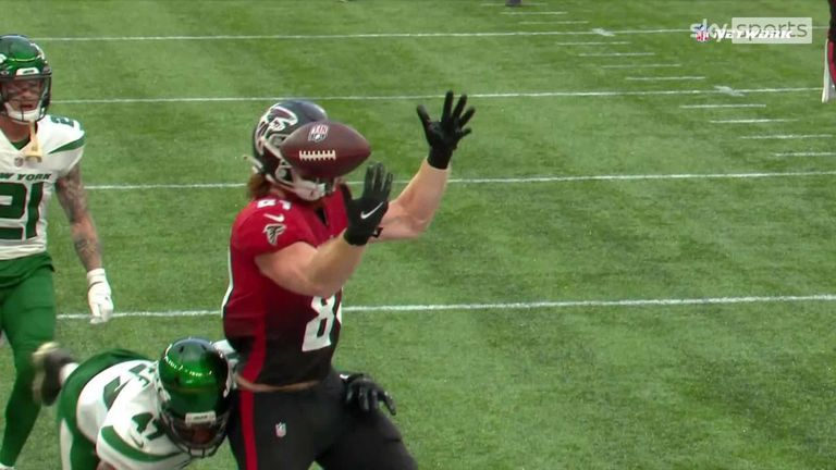 Matt Ryan once again showed his cool on third down finding Hayden Hurst for another Falcons touchdown