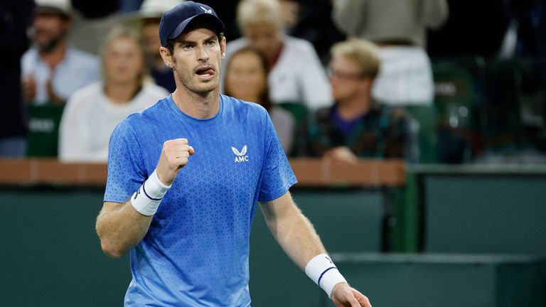 Andy Murray was back in business as the former world No 1 sealed a comfortable win over Frenchman Adrian Mannarino in the first round of Indian Wells
