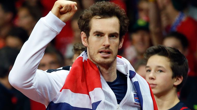 Andy Murray inspired Britain to Davis Cup glory in 2015