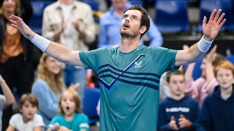 Andy Murray edges Frances Tiafoe in three-set classic at European Open in Antwerp |  Tennis News