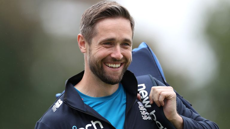 Chris Woakes is with the England squad in Oman as they prepare for the T20 World Cup