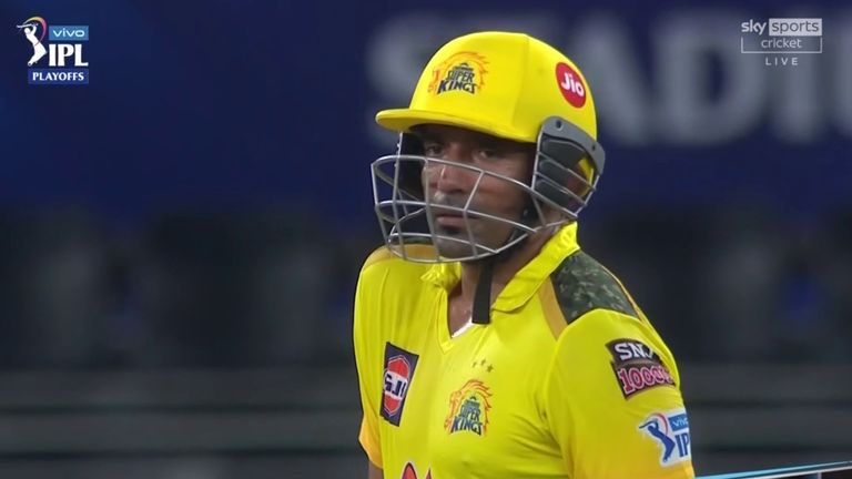 Chennai Super Kings' Robin Uthappa struck 63 from 44 balls as he and Ruturaj Gaikwad shared a second-wicket stand of 110